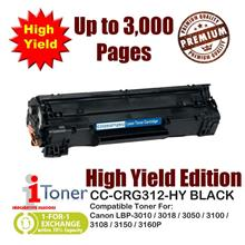 Canon 312 CRG312 Grade-A Compatible Toner 1,500+1,500 Pages High Yield