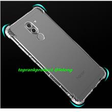 Huawei Honor 6X Transparent TPU Silicone Back Armor Case Cover Casing