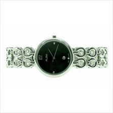 Alba Ladies Stainless Steel Date Watch VJ22-X278BSS