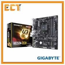 Gigabyte AB350M DS3H Ultra Durable M-ATX Motherboard (Socket AM4)
