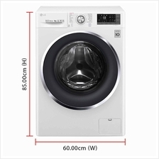 LG Inverter Direct Drive Washing Machine FC1409S3W (9.0kg) 1400RPM