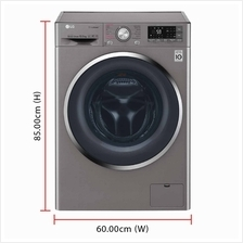 LG Inverter Direct Drive Washing Machine FC1450S2E (10.5kg) 1400RPM