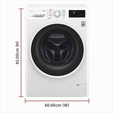 LG Inverter Direct Drive Washer Dryer FC1408R4W (8.0 / 5.0kg) 1400RPM