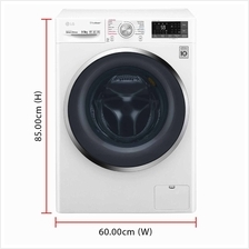 LG Inverter Direct Drive Washer Dryer FC1409H3W (9.0 / 5.0kg) 1400RPM