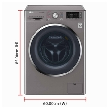 LG Inverter Direct Drive Washer Dryer FC1450H2E (10.5 / 7.0kg) 1400RPM