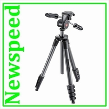 Manfrotto COMPACT ADVANCED WITH 3-WAY HEAD MKCOMPACTADV-BK