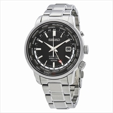 SEIKO . SUN069P1 . Neo Sports . M . World Time . SSB . Kinetic Black