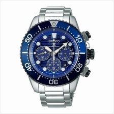 SEIKO . SSC675P1 . Prospex . Save the Ocean Diver Chrono Solar Blue SE