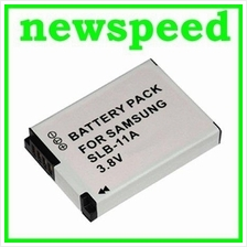 Grade A SLB-11A Battery for Samsung CL65 CL80 EX-1 EX1 HZ25W HZ30W