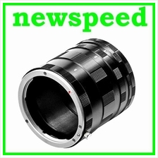 New Macro Extension Tubes Lens Adapter for Olympus 4/3 DSLR Camera