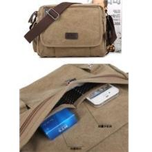 High Quality Fashion Travel Canvas Bag (Ship with Pos Laju)