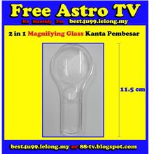 Kanta Pembesar Magnifying Glass School shop House office read paper