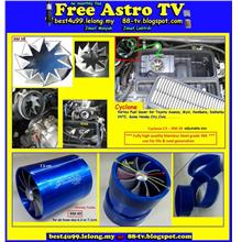Cyclone C3 ORI SIMOTA Twin Fan Turbo Spiral Jet Turbo Ventilator Saver