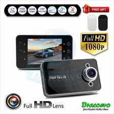 K6000 2.7 Inch Car DVR 1080P Full HD Video Recorder Dashboard Camera