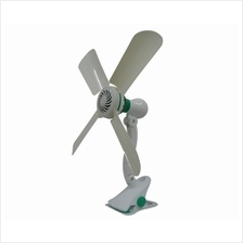 Dual Angle Adjustment Strong Wind Super Clip Fan 4 Blades HJ-590A