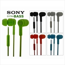 Sony Stereo Earphone/Handsfree With Remote Function/Extra Bass