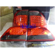 EAGLE EYES TOYOTA FORTUNER '06 RED/SMOKE Crystal LED Tail Lamp