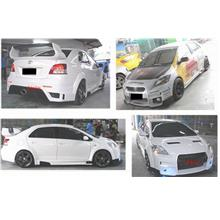 Toyota Vios '07 Bahamut Style Front+Rear Bumper+Side Skirt+Front Lip