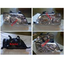 HONDA CRV '97-02 Head Lamp [Can upgrade to Projector + CCFL/Black]