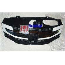 Honda City 09-10 Modulo Style Front Grille Free Red Honda Emblem