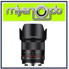 NEW Samyang 21mm F1.4 ED AS UMC CS For Canon M Mount