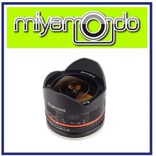 NEW Samyang 8mm f/2.8 Fisheye II Lens for Canon EF-M Mount
