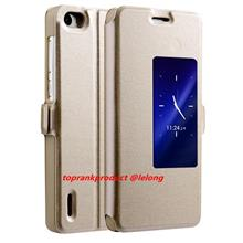 Huawei Honor 6 Flip Autowakeup Smart Stand Case Cover Casing
