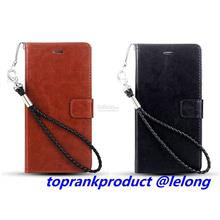 Samsung Galaxy Note 2 3 4 5 Flip Card Slot Leather Case Cover Casing