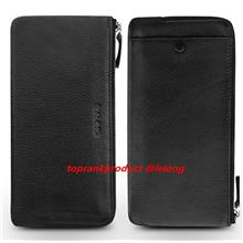 100% Cow Leather Apple iPhone 6 6S Plus Wallet Case Cover Casing