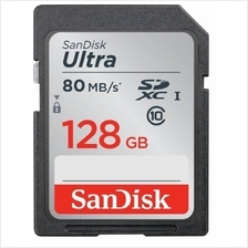 SANDISK Memory Card SDXC ULTRA C10 128GB (SDSDUNC-128G-GN6IN) 80MB/S