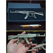 SENAPANG AK 47 FULL METAL LIKE REAL FULLMETAL(B4712)