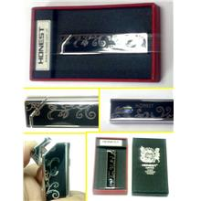 LIGHTER EKSKLUSIF STAINLEES STEEL UNTUK DILELONG=
