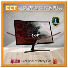 Acer ED242QR Curve 23.6 FHD (1920x1080) 4MS 144Hz FreeSync LED Gaming