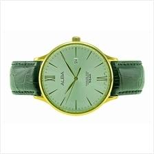 Alba Men Leather Date Watch VJ42-X229SGL