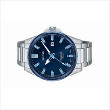 Alba Men Stainless Steel Date Watch VJ42-X231BLBLS