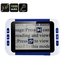 32x Zoom Portable Digital Magnifier With LCD (PDM-35).