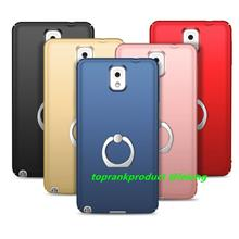 Samsung Galaxy Note 3 Hard Back Case Cover Casing With Ring Holder