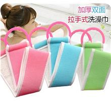 Double Side Thick Pull Type Bath Towel