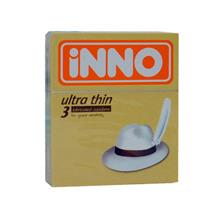 iNNO Ultra Thin Condom / Kondom (For Great Sensitivity)  3's
