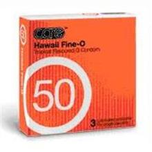 Care 50 Hawaii Fine O Condom / Kondom - 3's