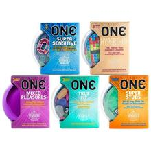 5 in 1 Combo Set ONE Condom - 15-pack