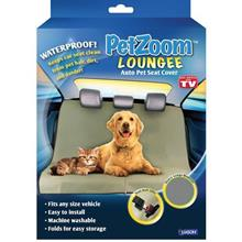 As Seen On TV~ PetZoom Loungee Pet Seat Cover for Car