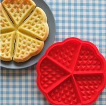 5 Heart Shape Waffle Cake Food Grade Silicon Mould