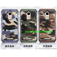 Asus Zenfone 3 MAX ZC520TL Camouflage Armor Back Case Cover Casing