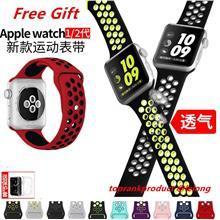 Apple Watch 2 42mm 38mm Sport Watchband Band Strap + Free Gift