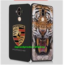 DY Huawei Mate 9 / Pro 3D Relief Back Case Cover Casing + Free Gift