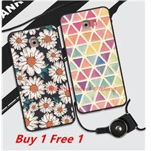Buy 1 Free 1 @ Samsung Galaxy C9 Pro 3D Silicone Case Cover Casing