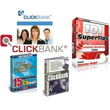 ClickBank Ebooks Collection Pack 4ebooks + Software