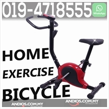 Home Gym Portable Upright Stationary Belt Exercise Fitness Bike Cycle