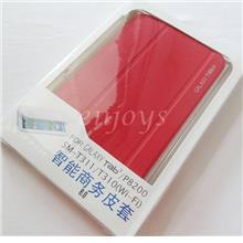 Auto Wake Hard Case Cover Samsung Galaxy Tab 3 8.0 T310 T311 T315 ~RED